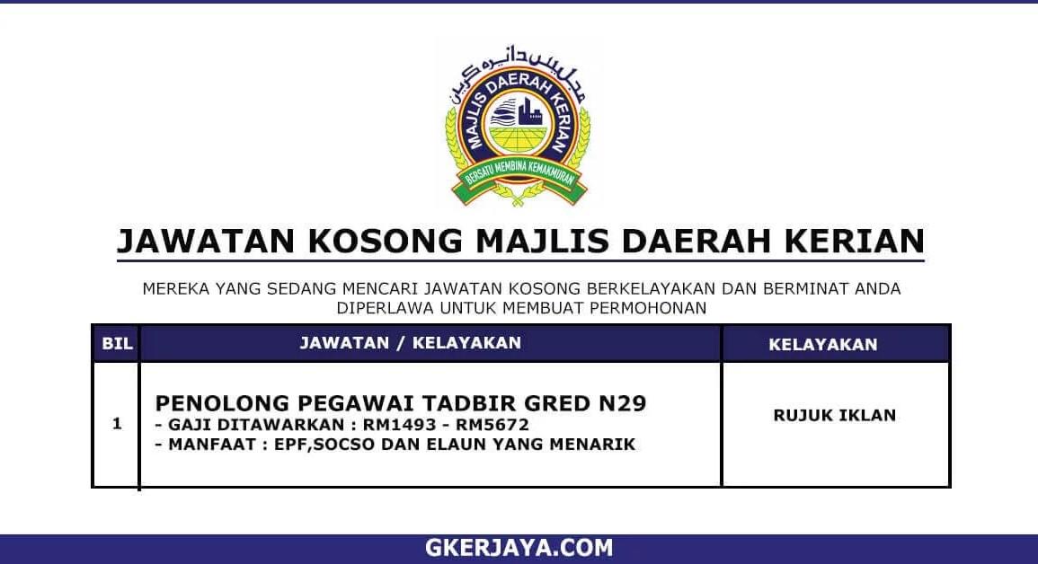 Kerja Terkini Majlis Daerah Kerian (1) (1)
