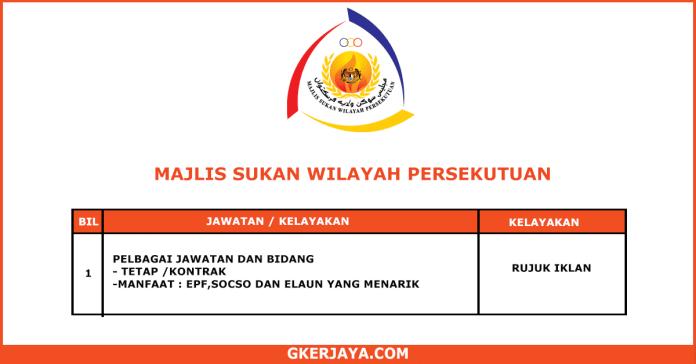 Kerja Terkini Majlis Sukan Wilayah Persekutuan (1)
