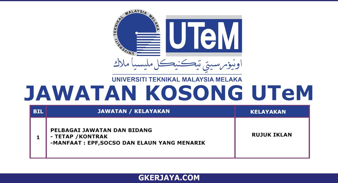 Kerja kini UTeM Permohonan Online (1)