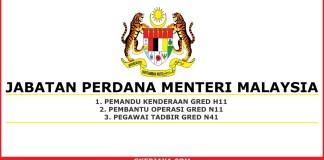 Kerja kosong Jabatan Perdana Menteri secara Kontrak