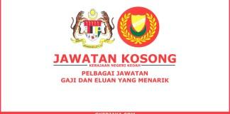 Kerja kosong Kerajaan Negeri Kedah