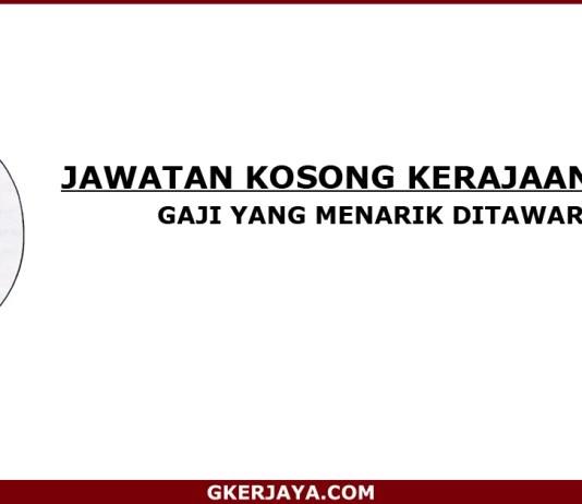 Kerja kosong Kerajaan Negeri Terengganu