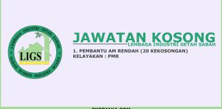 Kerja kosong Lembaga Industri Getah Sabah