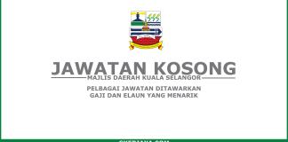 Kerja kosong Majlis Daerah Kuala Selangor (1)