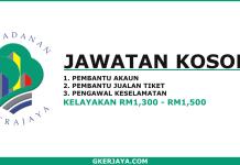 Kerja kosong Marina Putrajaya