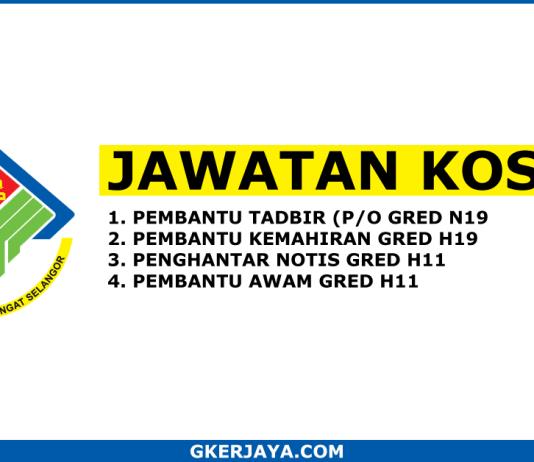 Kerja kosong Terkini Majlis Daerah Kuala Langat