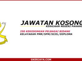 Kerja kosong kerajaan Negeri Pahang