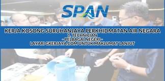 Kerja kosong suruhanjaya perkhidmatan air negara (SPAN)