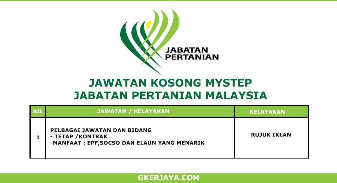 MySTEP Jabatan Pertanian Malaysia (1)
