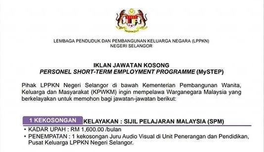 MySTEP LPPKN Negeri Selangor