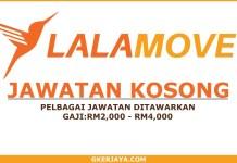 Peluang kerjaya Lalamove Malaysia Sdn Bhd