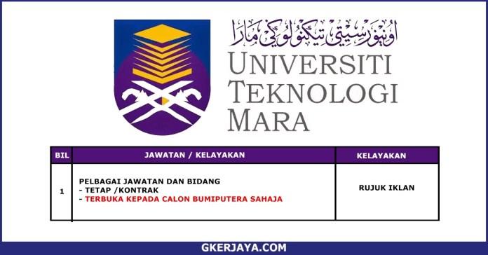 Pengambilan terkini jawatan Pentadbiran di UiTM Cawangan Johor kampus Segamat (1)