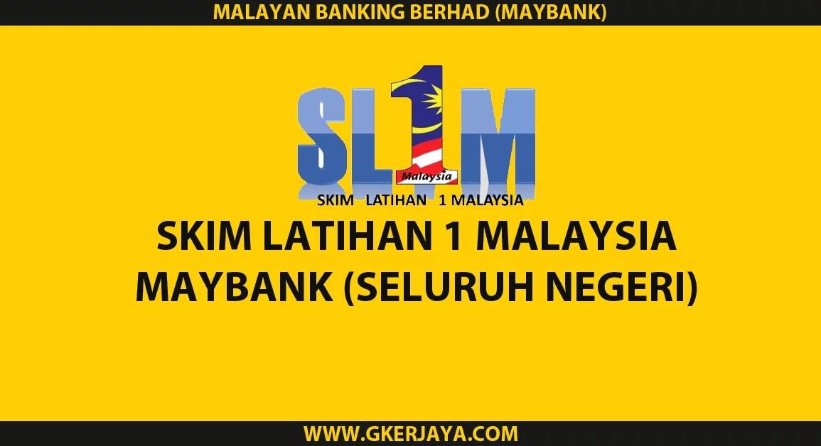Permohonan SL1M Maybank Seluruh Negeri