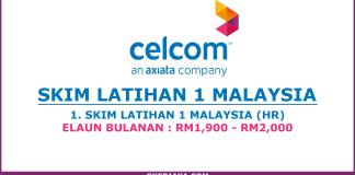Skim Latihan 1 Malaysia Celcom Axiata Berhad