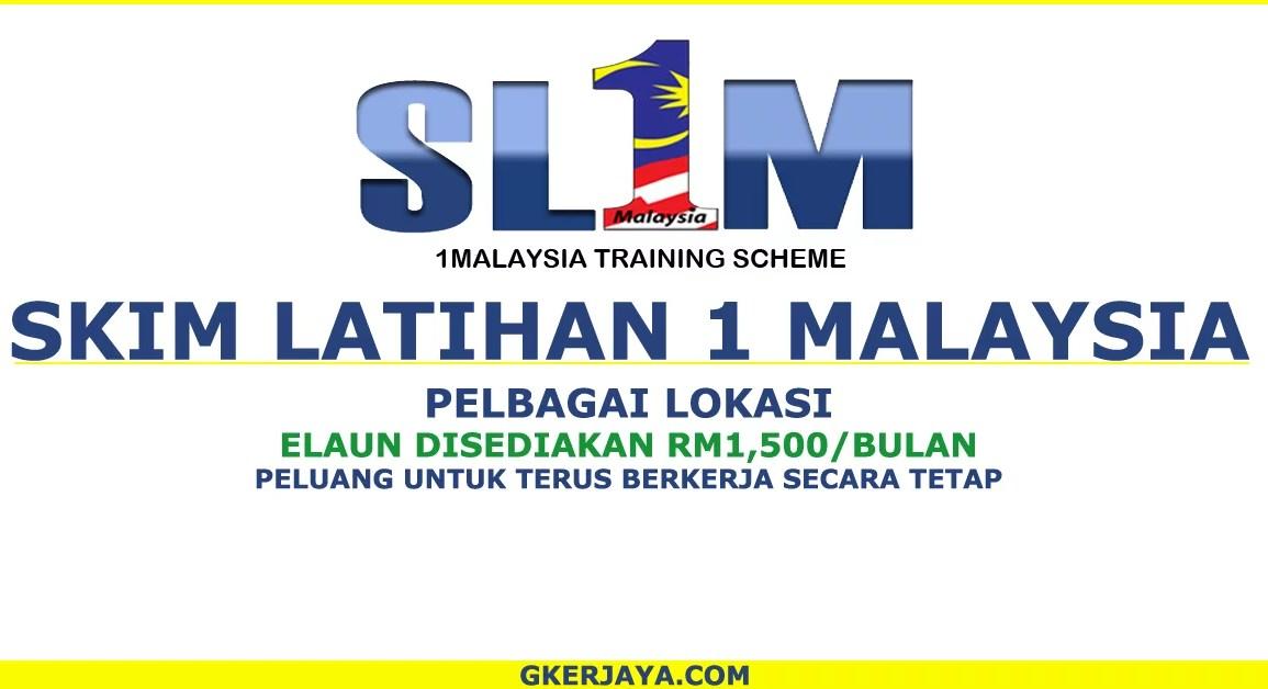 Skim Latihan 1 Malaysia di Malaysian Resources Corporation Berhad