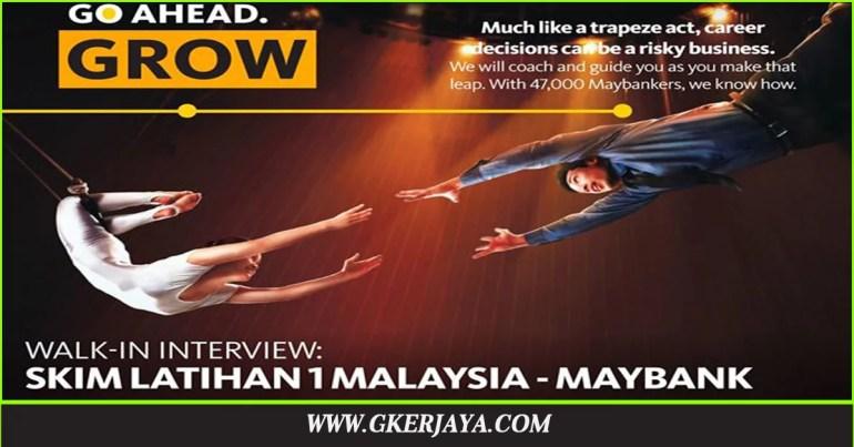 Temuduga Terbuka Skim Latihan 1 Malaysia Maybank