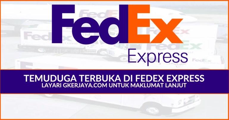 Walk in Interview FedEx Express