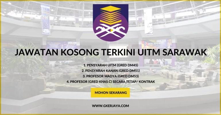 tpm uitm Kerja Kosong Pensyarah UiTM cawangan Sarawak