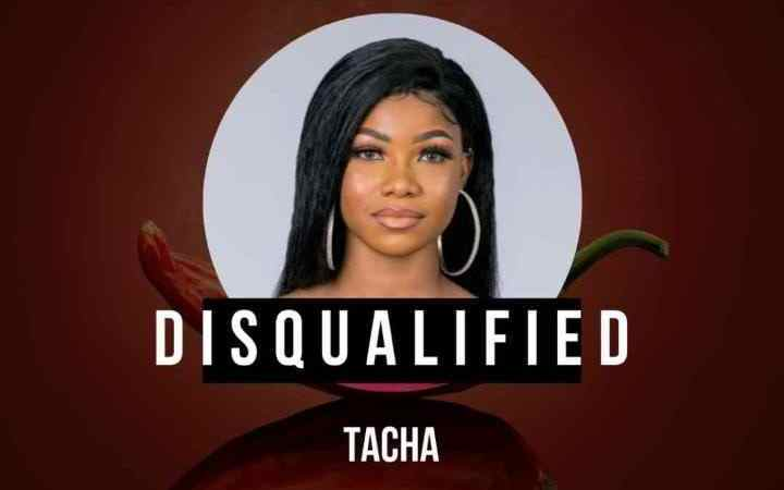 Tacha disqualified from BBNaija for physical violence 25