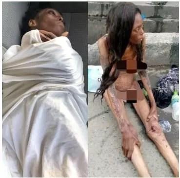 Update On Naked Emaciated Woman Filmed At Jubilee Bridge Ajah 1