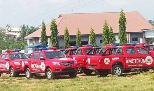 Seven Killed As Amotekun Operatives Clash With Gunmen In Oyo 1