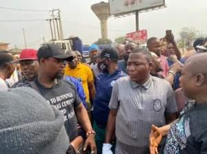 Sunday Igboho Lands In Ogun For Killer-herdsmen