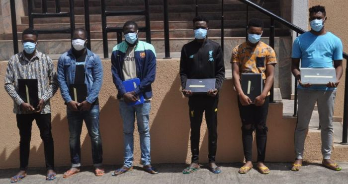 Over 30 Suspected Internet Fraudsters Land In EFCC Net Following Massive Raid In Ogun State 1