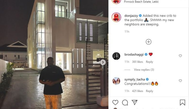 Mavin Boss, Don Jazzy Acquire New House (photos) 1