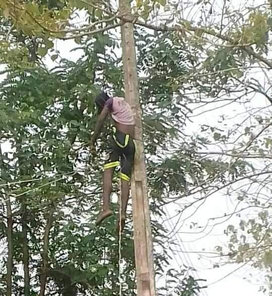 26-Year-Old Man Died While Reconnecting Electricity Cable In Benue (Graphic Photo) 3