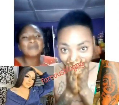 Mother Backs Her Son For Drawing Bobrisky On His Body (VIDEO) 5