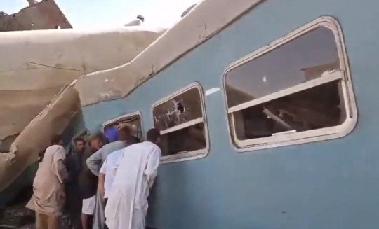 32 People Killed As Two Trains Crash 1