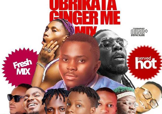 DJ Famous V – Obrikata And Ginger Me mixtape