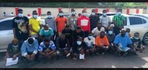 EFCC Arrests 34 Yahoo Boys In Owo, Ondo State (Photos) 1