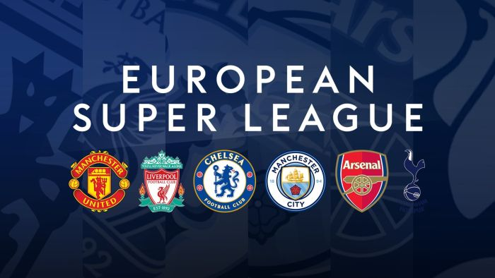 Super League Ordered To Fine Arsenal, Chelsea, Man United & Others For Pulling Out Of Competition