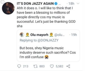 I Don't Regret Sacrificing My Marriage For Music – Don Jazzy 3