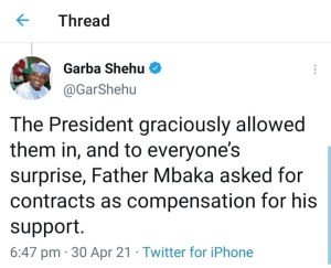 See The Reason Why Father Mbaka Want Buhari To Resign or Impeached Immediately (SHOCKING 😲) 3