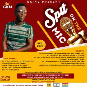 Update Gking Present - Spit on the Mic Competition 1