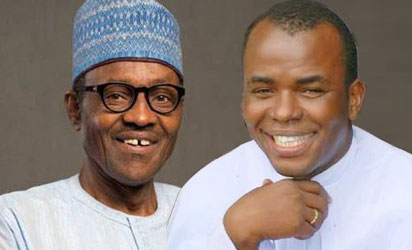 Mbaka Admits Discussing Contract With Buhari (Read Full Details)