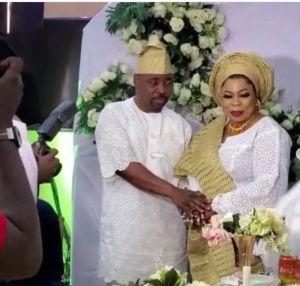 Photos From MC Oluomo Secret Wedding To American Lover