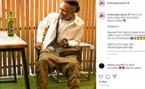 CONGRATS!! Talented Rapper, Kabex Becomes Trophy Lager Beer Brand Ambassador 2