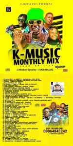 DJ MARLEY - K-MUSIC ENT Monthly Mixtape June Edition 2