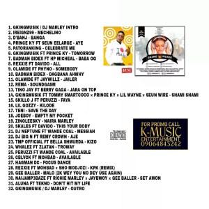Download Dj Marley - Gkingmusik Spit on the Mic Mixtape 2