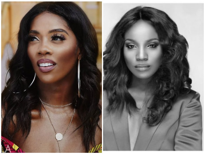 Seyi Shay & Tiwa Savage Fight Dirty In A Salon In Lagos (Watch Video)