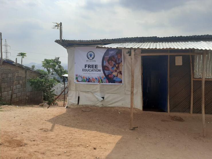 Nigerian Man Builds Free School To Educate Less Privileged Kids