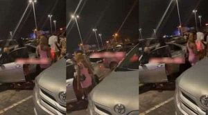 Sex Workers Confront Man Who Paid One Of Them With A Fake Transfer After Chopping Her (Video)