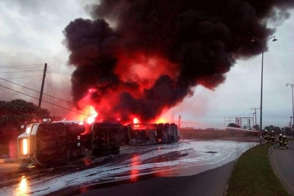 Five Confirmed Dead In Ogun Tanker Explosion