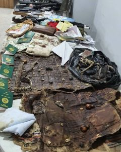 DSS Declares Sunday Igboho Wanted (See Photos Of The Charm And Guns Found In His House) 1