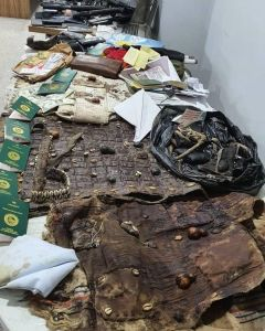 DSS Declares Sunday Igboho Wanted (See Photos Of The Charm And Guns Found In His House) 3