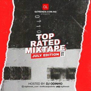 Download Dj Odinho - GLtrends Top Rated Mixtape (July 2021 Edition)
