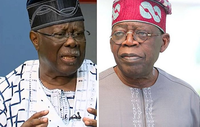 2023: Tinubu Has No Certificates, He Steals Huge Amounts of Lagos Money Monthly – Bode George